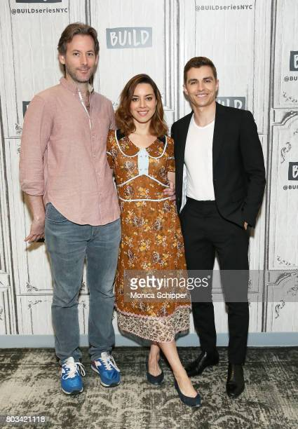 Filmmaker Jeff Baena and actors Aubrey Plaza and Dave Franco discuss 'The Little Hours' at Build Studio on June 29 2017 in New York City