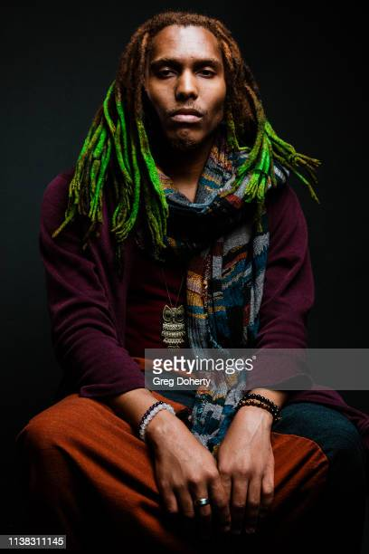 Filmmaker Jeion Green attends the Welcome to Cannacity 'She's Smokin' Event on April 20 2019 in Los Angeles California