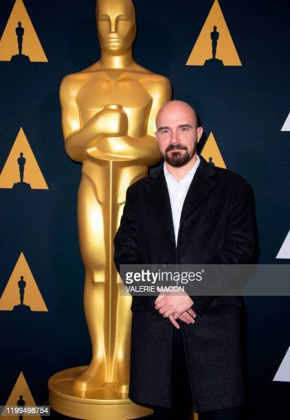 """Filmmaker Jeremy Clapin nominee for """"I lost My Body"""" attends the Oscar Week Events: Animated Features at the Academy of Motion Picture Arts and..."""