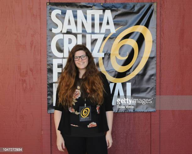Filmmaker Jesseca Ynez Simmons attends the 2018 Santa Cruz Film Festival on October 7 2018 in Santa Cruz California