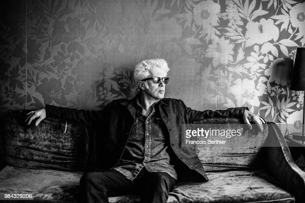 Filmmaker Jim Jarmusch is photographed for Self Assignment, on November 2016 in Paris, France. . .