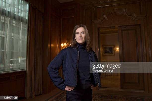 Filmmaker Joanna Hogg poses for a portrait during the 69th Berlinale International Film Festival on February 8 2019 in Berlin Germany