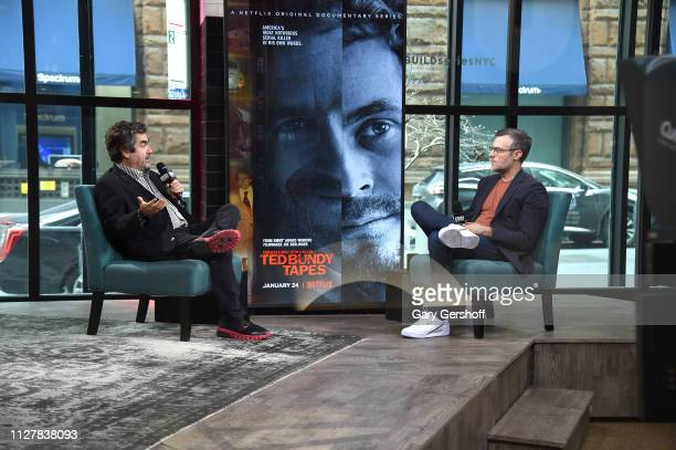 Filmmaker Joe Berlinger visits the Build Series with moderator Ricky Camilleri to discuss the films 'Conversations with a Killer The Ted Bundy Tapes'...