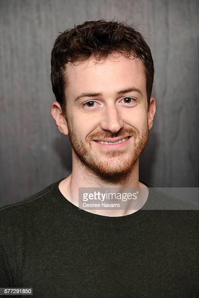 Filmmaker Joe Mazzello attends 'Undrafted' New York screening at Bryant Park Hotel on July 18 2016 in New York City