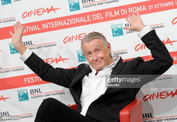 Filmmaker Joel Schumacher poses at a photocall during the 6th International Rome Film Festival on November 3, 2011 in Rome, Italy.