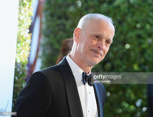 Filmmaker John Waters attends the 21st Annual Elton John AIDS Foundation Academy Awards Viewing Party at West Hollywood Park on February 24 2013 in...