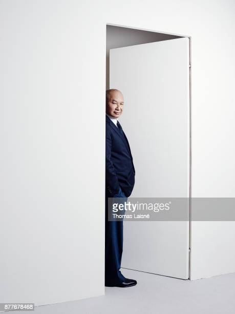 Filmmaker John Woo is photographed for Self Assignment on September 8 2017 in Venice Italy