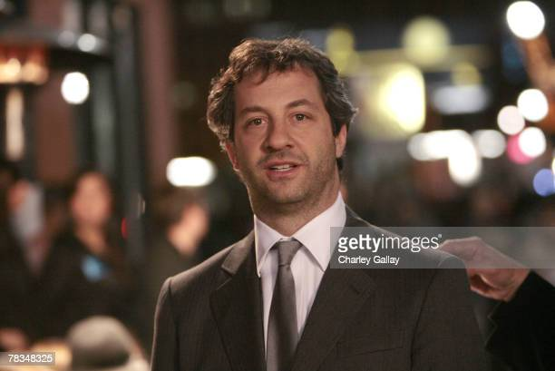 Filmmaker Judd Apatow arrives at the 7th Annual Breakthrough Of The Year Awards at the Music Box at the Henry Fonda Theater on December 9 2007 in Los...