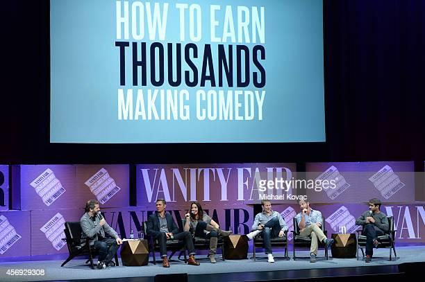 Filmmaker Judd Apatow Funny or Die President of Production Mike Farah Filmmaker Whitney Cummings Filmmaker Scott Aukerman actors Nick Kroll and...