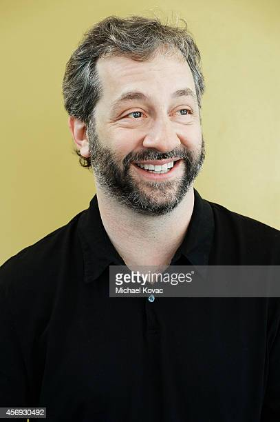 Filmmaker Judd Apatow is photographed at the Vanity Fair New Establishment Summit on October 8 2014 in San Francisco California