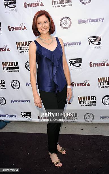 Filmmaker Julia Sanford arrives for the 2014 Etheria Film Night held at American Cinematheque's Egyptian Theatre on July 12 2014 in Hollywood...