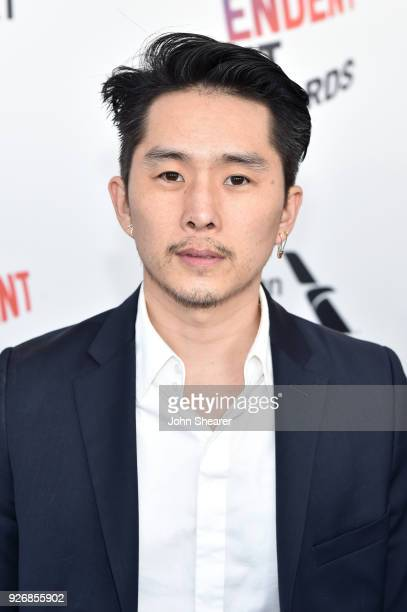 Filmmaker Justin Chon attends the 2018 Film Independent Spirit Awards on March 3 2018 in Santa Monica California