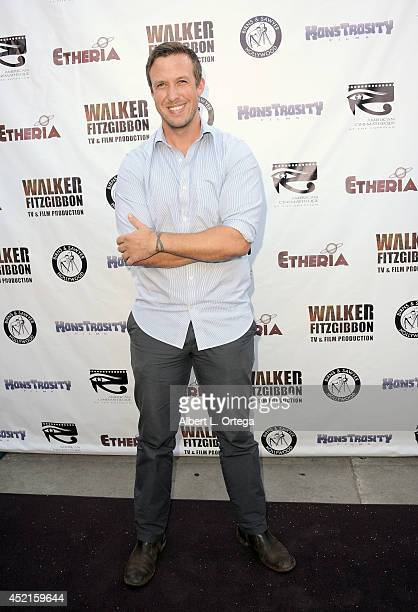 Filmmaker Justin Gordon arrives for the 2014 Etheria Film Night held at American Cinematheque's Egyptian Theatre on July 12 2014 in Hollywood...