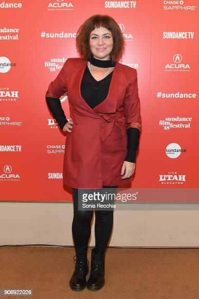 Filmmaker Karine Teles attends the 'Loveling' Premiere during the 2018 Sundance Film Festival at Egyptian Theatre on January 18 2018 in Park City Utah