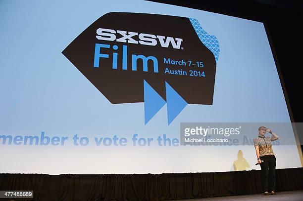 Filmmaker Kat Candler takes part in a QA following the Hellion premiere during the 2014 SXSW Music Film Interactive Festival at the Topfer Theatre at...
