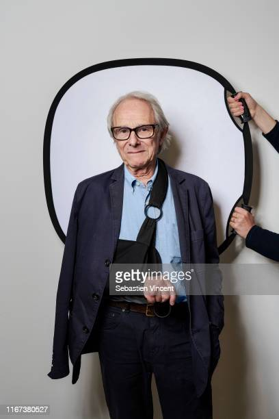 Filmmaker Ken Loach poses for a portrait on May 17, 2019 in Cannes, France.