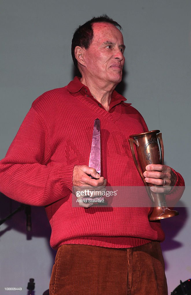 Filmmaker Kenneth Anger attends Anthology Film Archives 40th Anniversary 'Return to the Pleasure Dome' celebration at the Hiro Ballroom at The Maritime Hotel on May 19, 2010 in New York City.