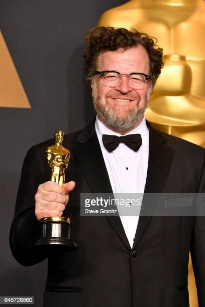 Filmmaker Kenneth Lonergan winner of the award for Original Screenplay for 'Manchester by the Sea' poses in the press room during the 89th Annual...