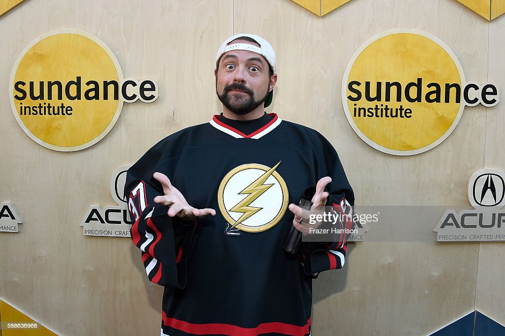 Filmmaker Kevin Smith attends the Sundance Institute NIGHT BEFORE NEXT Benefit at The Theatre at The Ace Hotel on August 11, 2016 in Los Angeles, California.