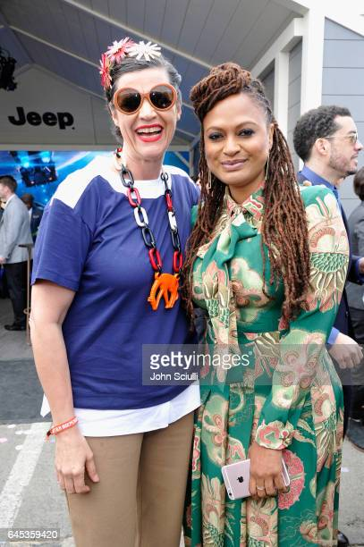 Filmmaker Kirsten Johnson and director Ava DuVernay attend the 2017 Film Independent Spirit Awards sponsored by Jeep at Santa Monica Pier on February...