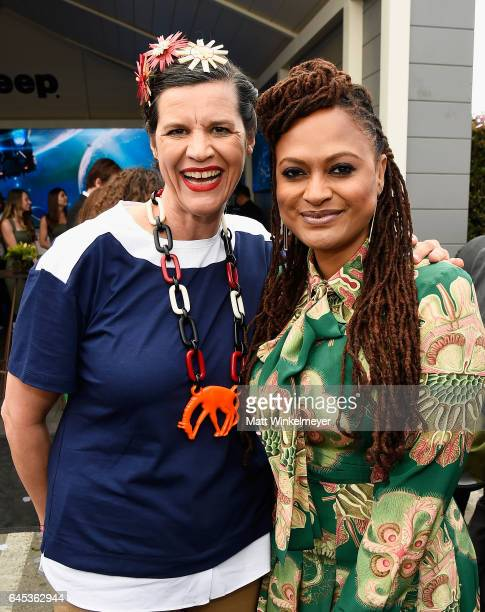 Filmmaker Kirsten Johnson and Director Ava DuVernay attends the 2017 Film Independent Spirit Awards at the Santa Monica Pier on February 25 2017 in...