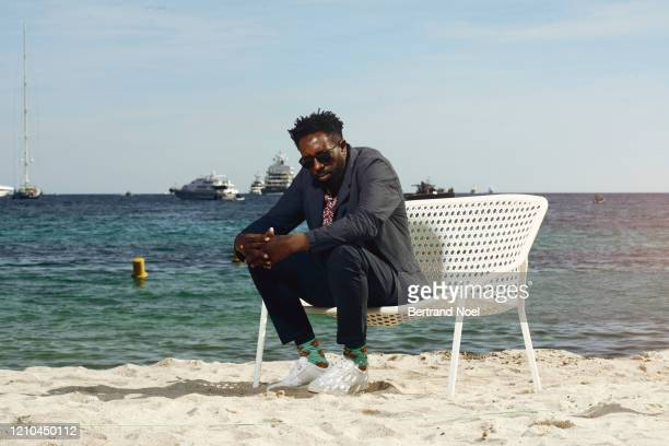 Filmmaker Ladj Ly poses for a portrait on May 15 2019 in Cannes France