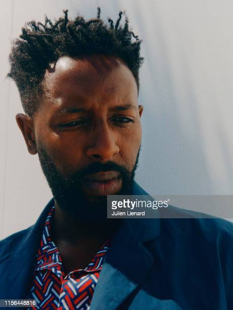 Filmmaker Ladj Ly poses for a portrait on May 16 2019 in Cannes France