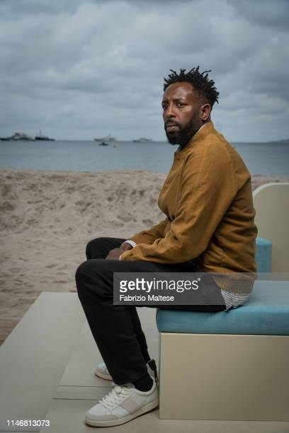 Filmmaker Ladj Ly poses for a portrait on May 17 2019 in Cannes France