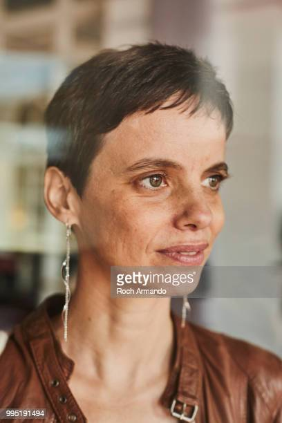 Filmmaker Laetitia Carton is photographed for Self Assignment on June 2018 in Cabourg France