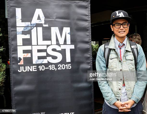 Filmmaker Lamin Oo attends the AFS Luncheon during the 2015 Los Angeles Film Festival at Casa Nostra on June 11, 2015 in Los Angeles, California.
