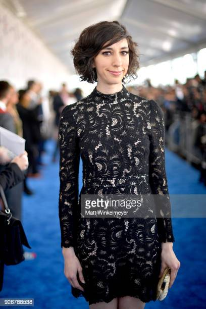 Filmmaker Lana Wilson attends the 2018 Film Independent Spirit Awards on March 3 2018 in Santa Monica California