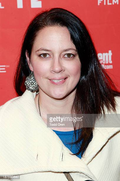 Filmmaker Lauren Edwards attends the Safety Not Guaranteed premiere during the 2012 Sundance Film Festival held at Prospector Square Theatre on...