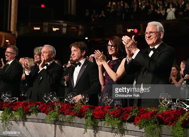 Filmmaker Lawrence Kasdan writer/producer Vince Gilligan actress Diane Keaton producer Lorne Michaels actor Martin Short Anne Stringfield and honoree...
