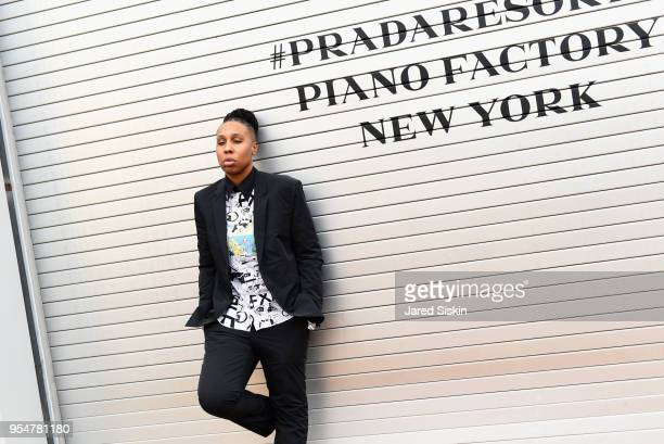 Filmmaker Lena Waithe attends the Prada Resort 2019 fashion show on May 4, 2018 in New York City.