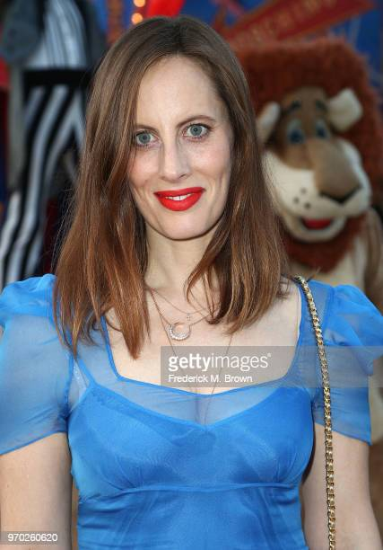 Filmmaker Liz Goldwyn attends Moschino Spring/Summer 19 Menswear and Women's Resort Collection at the Los Angeles Equestrian Center on June 8 2018 in...
