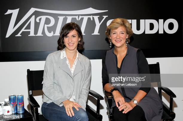 Filmmaker Madeleine Sackler and producer Andrea Meditch attend the Variety Studio presented by Moroccanoil at Holt Renfrew during the 2013 Toronto...