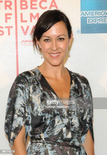 """Filmmaker Maggie Kiley attends the """"Freakonomics"""" premiere during the 9th Annual Tribeca Film Festival at the Tribeca Performing Arts Center on April..."""