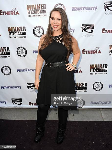 Filmmaker Malia Miglino arrives for the 2014 Etheria Film Night held at American Cinematheque's Egyptian Theatre on July 12 2014 in Hollywood...