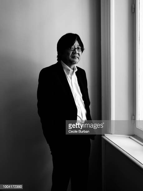 Filmmaker Mamoru Hosoda is photographed for Self Assignment on May 2018 in Cannes France