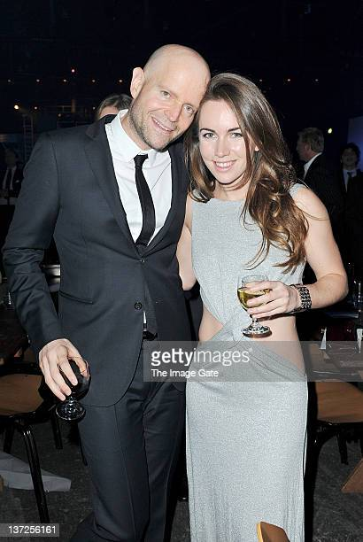 Filmmaker Marc Forster and poker champion Olivia Boeree attend the IWC Schaffhausen Top Gun Gala Event during the 22nd SIHH High Jewellery Fair at...