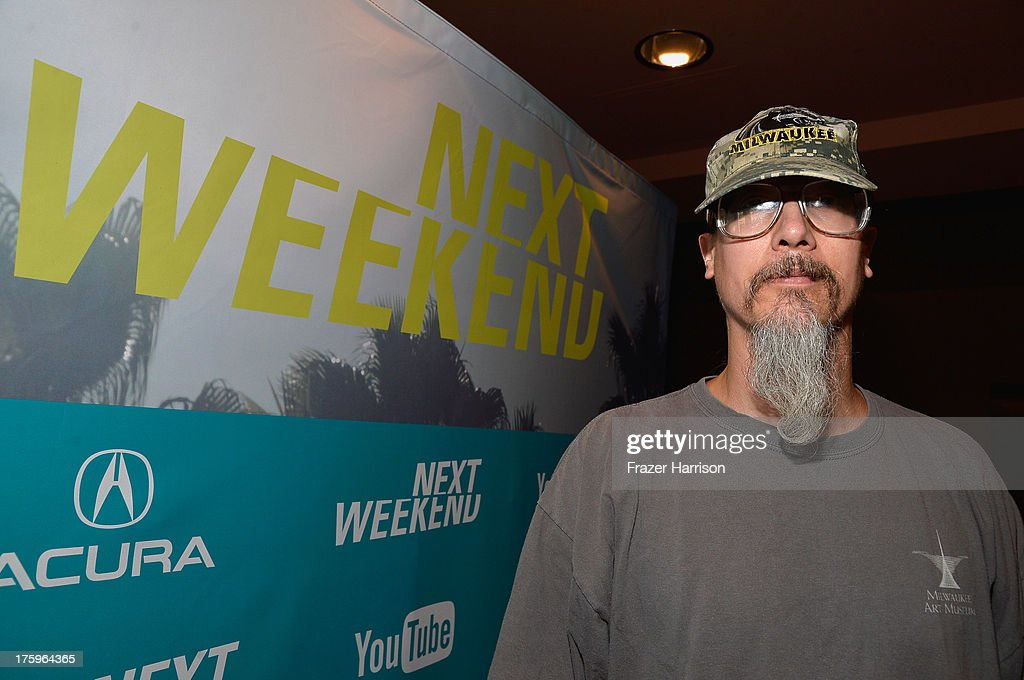 Filmmaker Mark Borchardt attends NEXT WEEKEND, presented by Sundance Institute at Sundance Sunset Cinema on August 10, 2013 in Los Angeles, California.