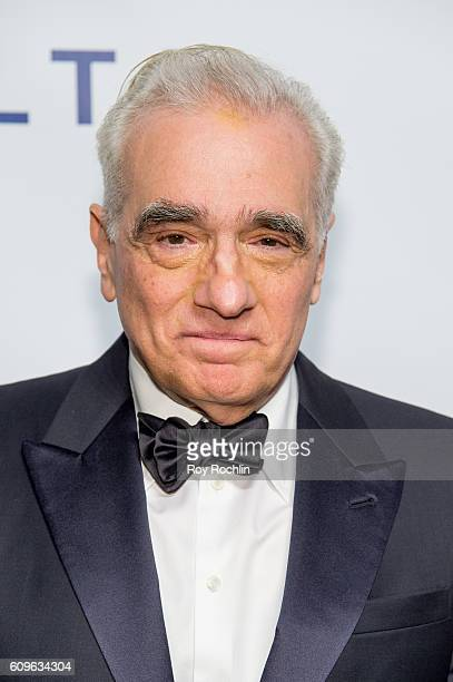 Filmmaker Martin Scorsese attends Friars Club honors Martin Scorsese with Entertainment Icon Award at Cipriani Wall Street on September 21 2016 in...