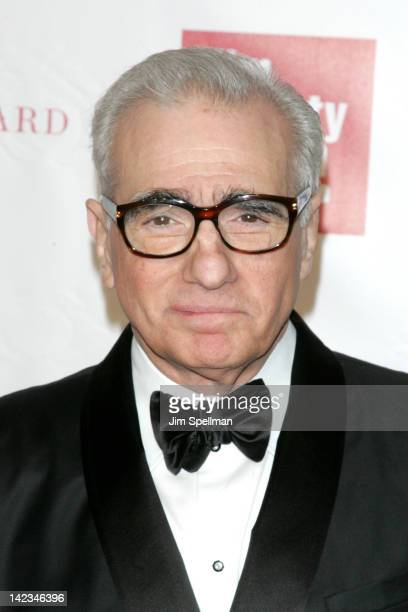 Filmmaker Martin Scorsese attends the 39th Annual Chaplin Award gala at Alice Tully Hall on April 2 2012 in New York City