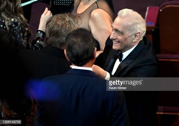 Filmmaker Martin Scorsese attends the 92nd Annual Academy Awards at Dolby Theatre on February 09, 2020 in Hollywood, California.