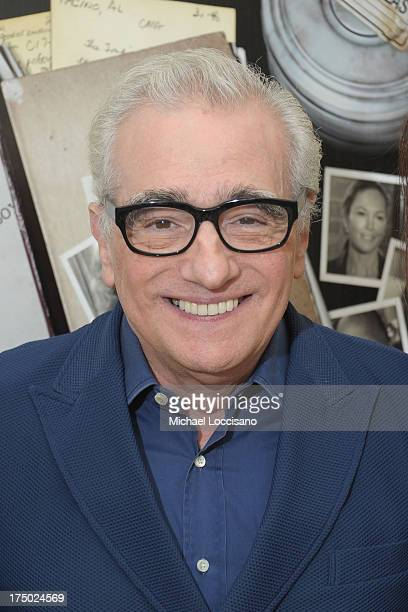 Filmmaker Martin Scorsese attends the New York Premiere of HBO Documentary 'Casting By' at HBO Theater on July 29 2013 in New York City