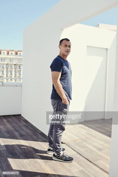 Filmmaker Matteo Garrone is photographed for Gala Croisette on May 2018 in Cannes France