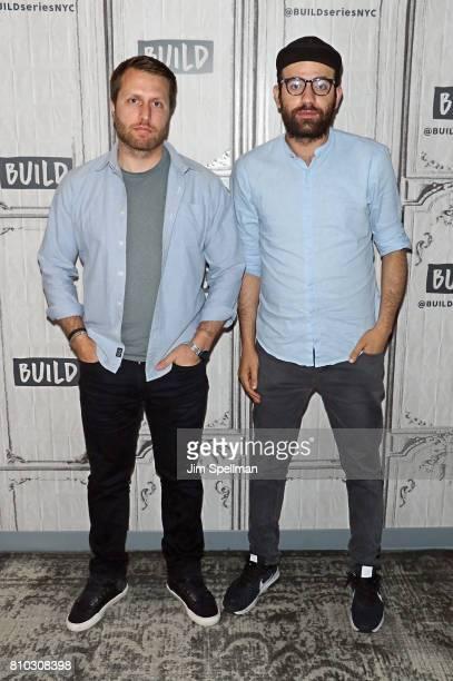 Filmmaker Matthew Heineman and journalist Abdalaziz Alhamza attend Build to discuss the new film City Of Ghosts at Build Studio on July 7 2017 in New...