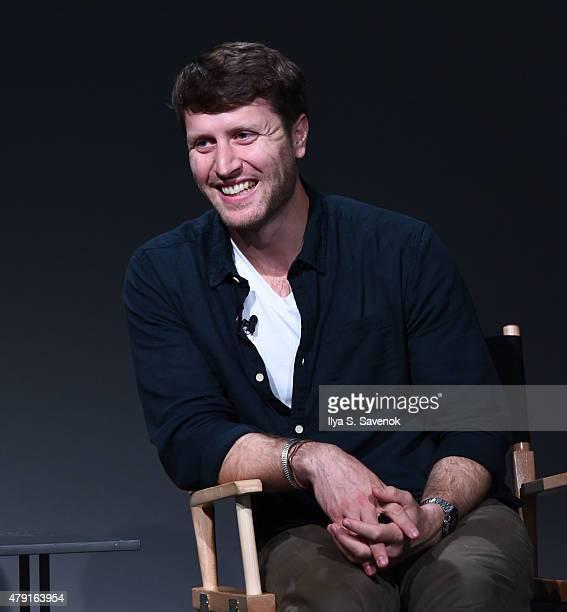 Filmmaker Matthew Heineman attends Apple Store Soho Meet The Filmmaker Cartel Land at Apple Store Soho on July 1 2015 in New York City