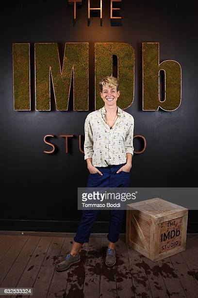Filmmaker Mia Lidofsky of Strangers attends The IMDb Studio featuring the Filmmaker Discovery Lounge presented by Amazon Video Direct Day Four during...