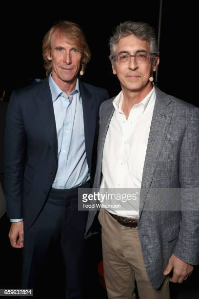 Filmmaker Michael Bay and director Alexander Payne at CinemaCon 2017 Paramount Pictures Presentation Highlighting Its Summer of 2017 and Beyond at...